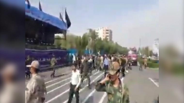 Теракт произошел навоенном параде вИране— видео