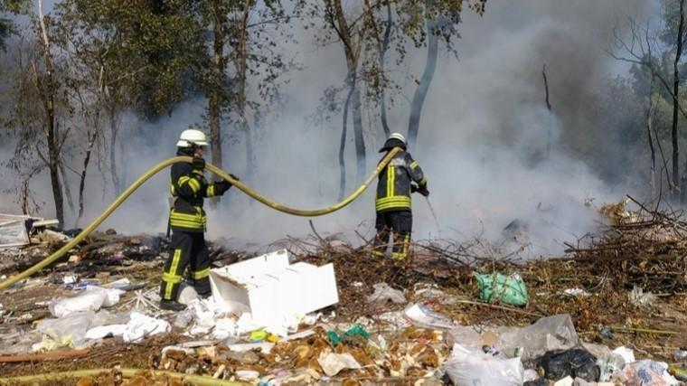Страшный пожар вКиеве сняли навидео