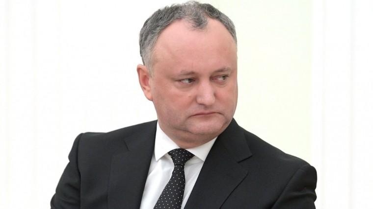 Президент Молдавии назвал решение освоем отстранении незаконным