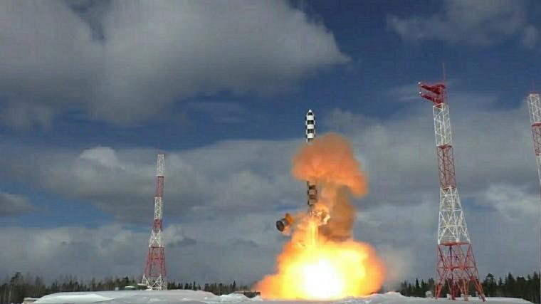минобороны раскрыли подробности испытаний ракеты сармат
