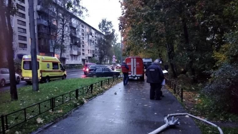 пенсионерка погибла пожаре квартире петербурге