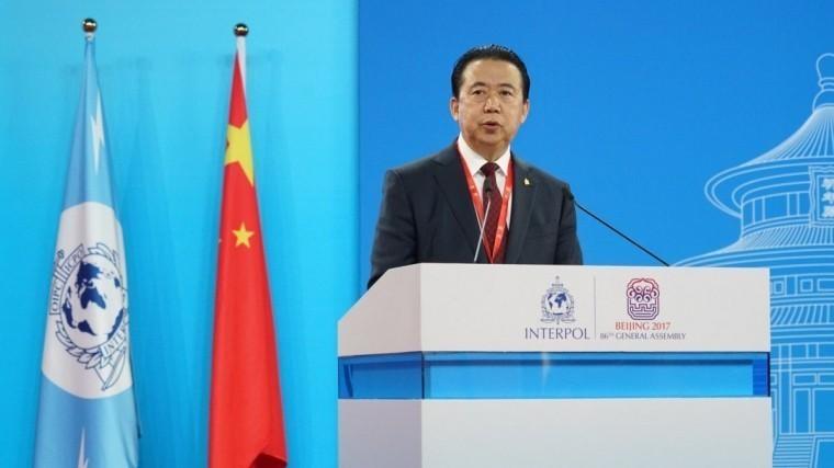 арестованный китае глава интерпола отставку