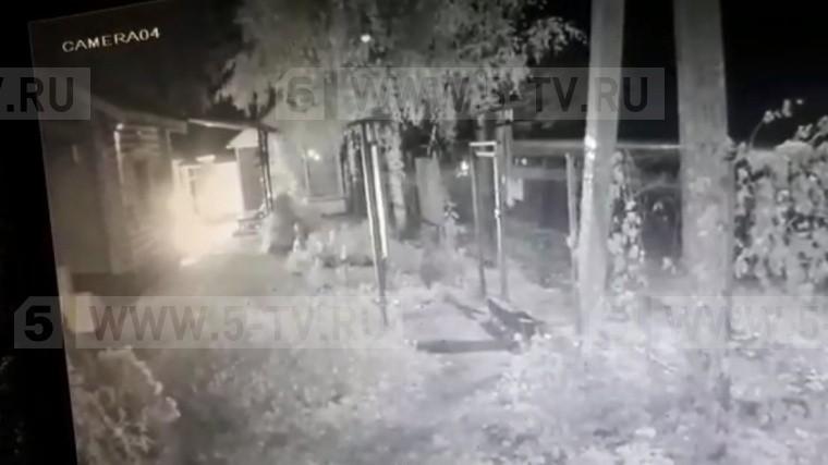 Поджог православного храма вМоскве попал навидео