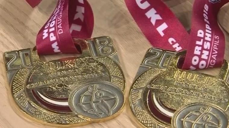 сборная взяла золото чемпионате мира гиревому спорту