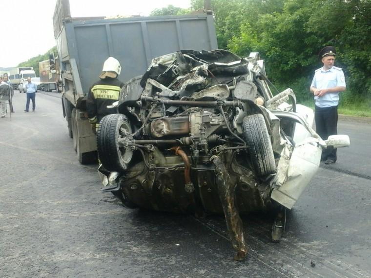 Аварія в тульської області