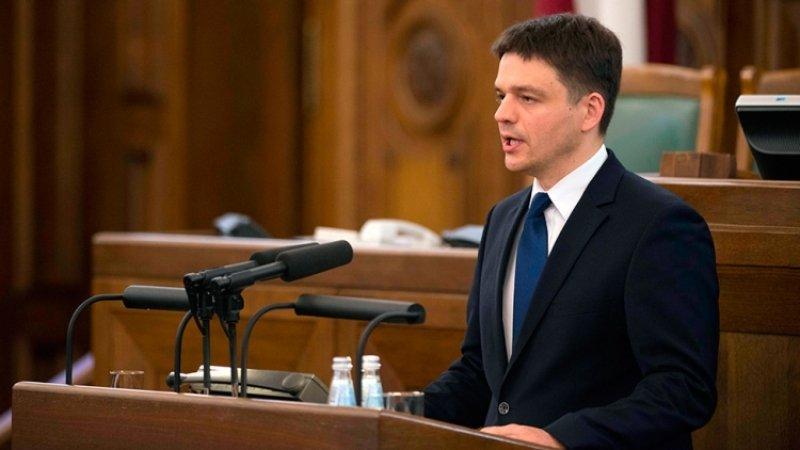 Депутат латвийского Сейма Эдвинс Шнуоре