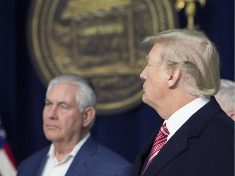 СМИ узнали детали увольнения Тиллерсона споста Госсекретаря США