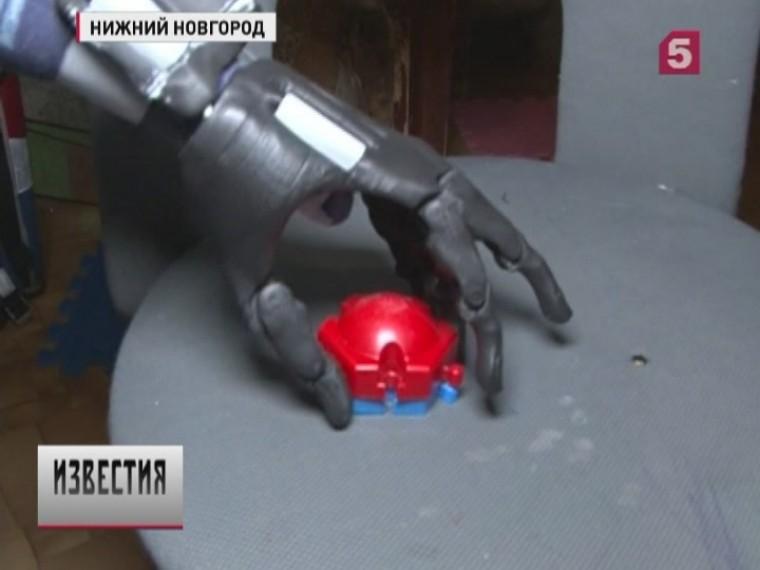 Изобретатель изНижнего Новгорода создал протез кисти