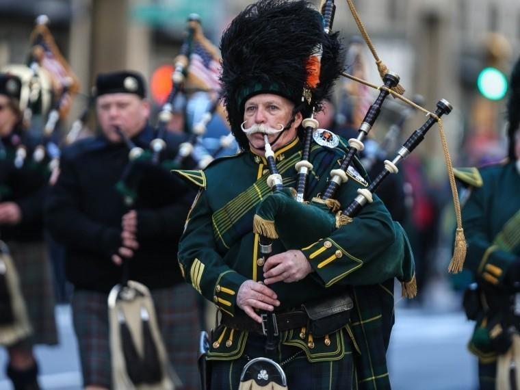 ВНью-Йорке в257-й раз прошел парад вчесть Дня святого Патрика