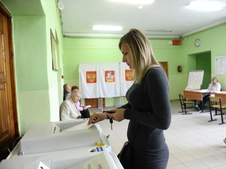 Избирательные участки открылись вМоскве