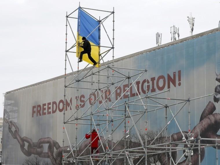 Саакашвили пообещал протестующим вКиеве «вернуть Крым»