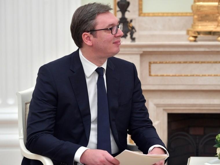 Президент Сербии поздравил Путина спобедой наВыборах-2018