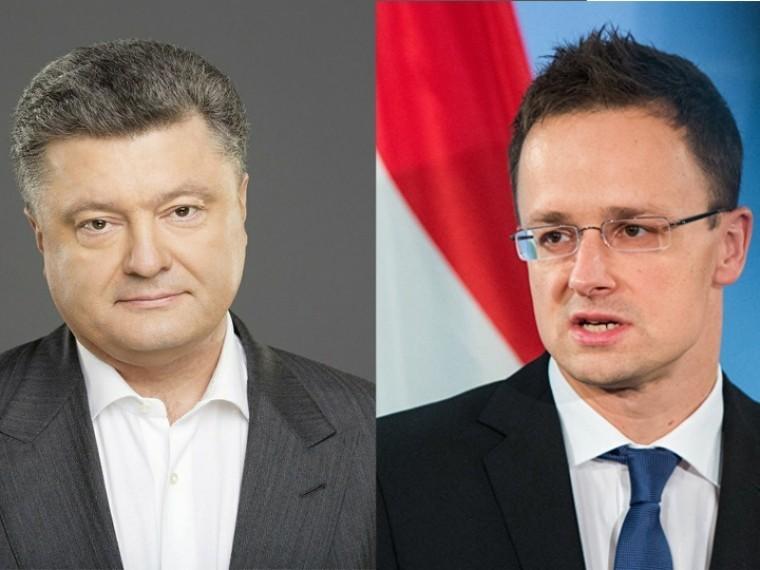 МИД Венгрии нехочет видеть Порошенко налетнем саммите НАТО