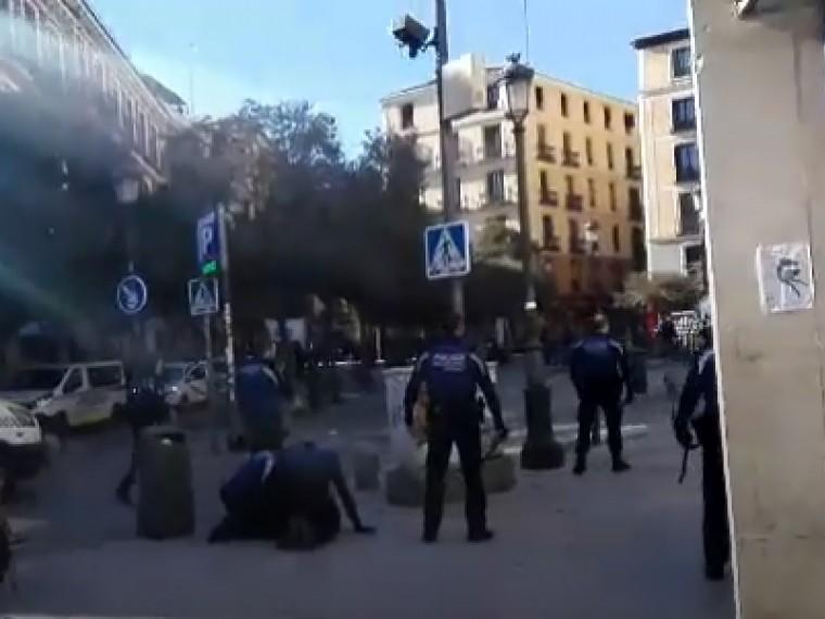 Беспорядки вМадриде: сообщается как минимум опяти пострадавших