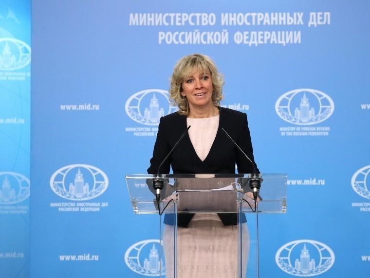 Захарова напомнила западным коллегам хэштег «freesavchenko»