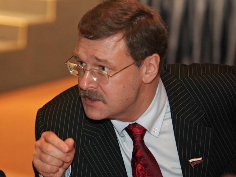Сложно вникнуть вто, чего нет— сенатор Косачев обританской презентации по«делу Скрипаля»