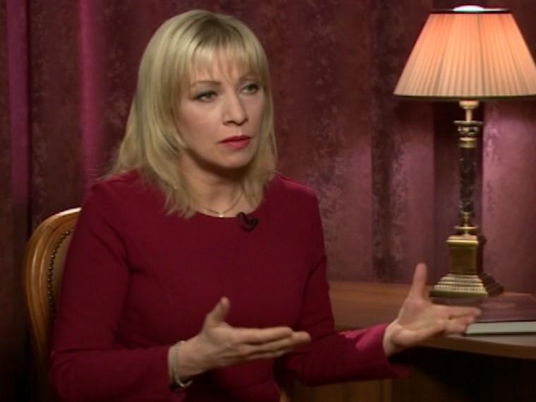 Захарова рассказала, как поставила втупик западного журналиста