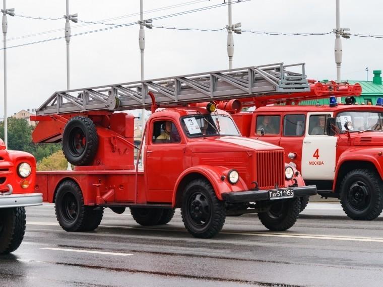 Семь пожарных машин ликвидировали возгорание вгостинице вОмске