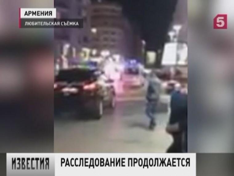 Все пострадавшие при взрыве вцентре Еревана будут выписаны избольницы