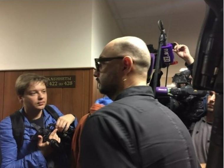 Представители Минкультуры просят суд продлить меру пресечения Серебренникову
