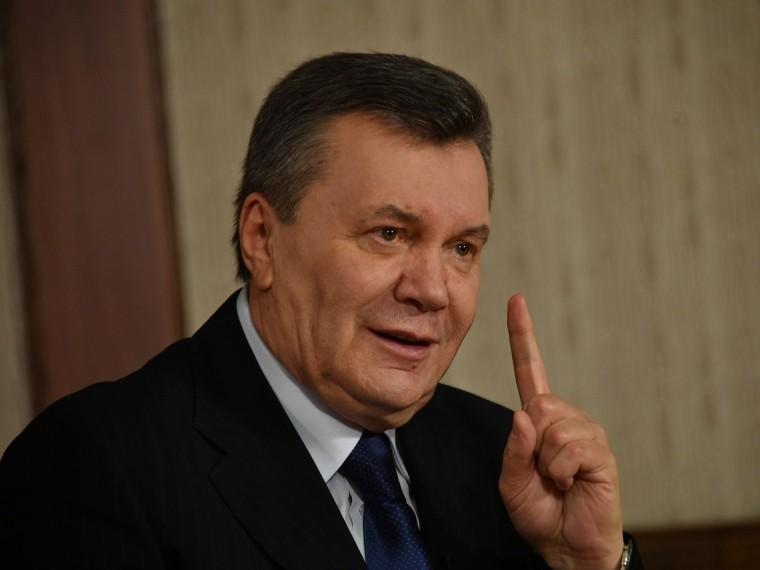 Виктор Янукович счёл незаконным решение суда поделу огосударственной измене