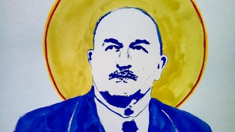 Портрет Станислава Черчесова нарисовали на подстанции художники-граффитисты в Петербурге