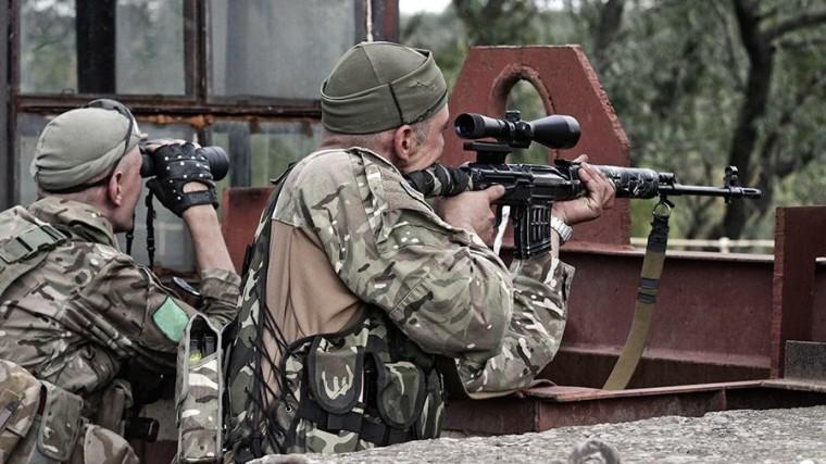 ВДонбассе появилась спецгруппа снайперов для борьбы снацбатальонами